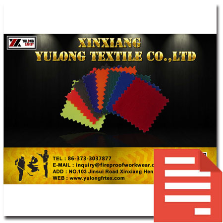 Yulong Textile fabric catalogue