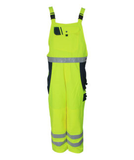 Fluorescent Yellow Bib Pants