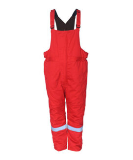 cotton flame resistant antistatic bib overalls