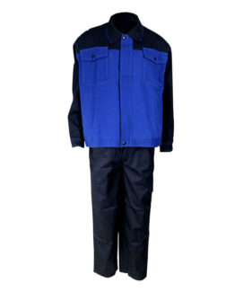 flame resistant two-pieces coverall