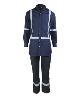 navy fireproof suits