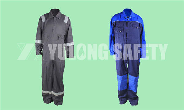 protective workwear produced by Yulong Textile