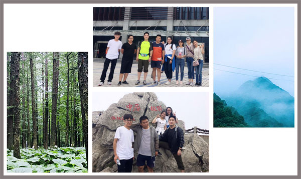 Yulong Textile Organized Excellent Staff to Baiyun Mountain for Two-Day Tour