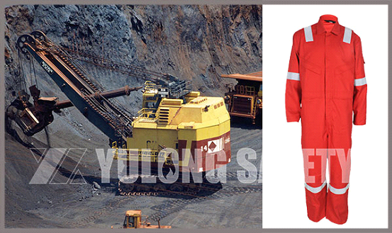 Protection under the Mine - Flame Retardant Ripstop Coverall