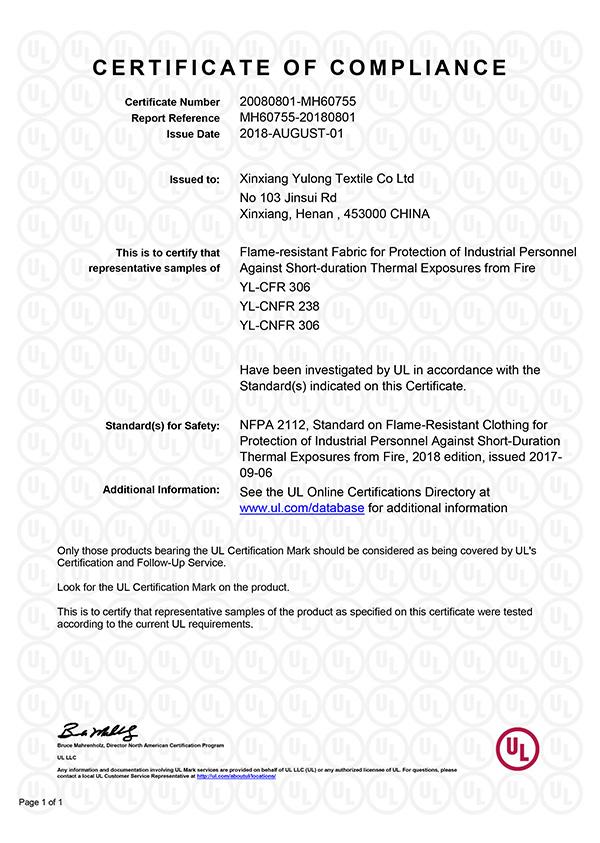 UL Certifications