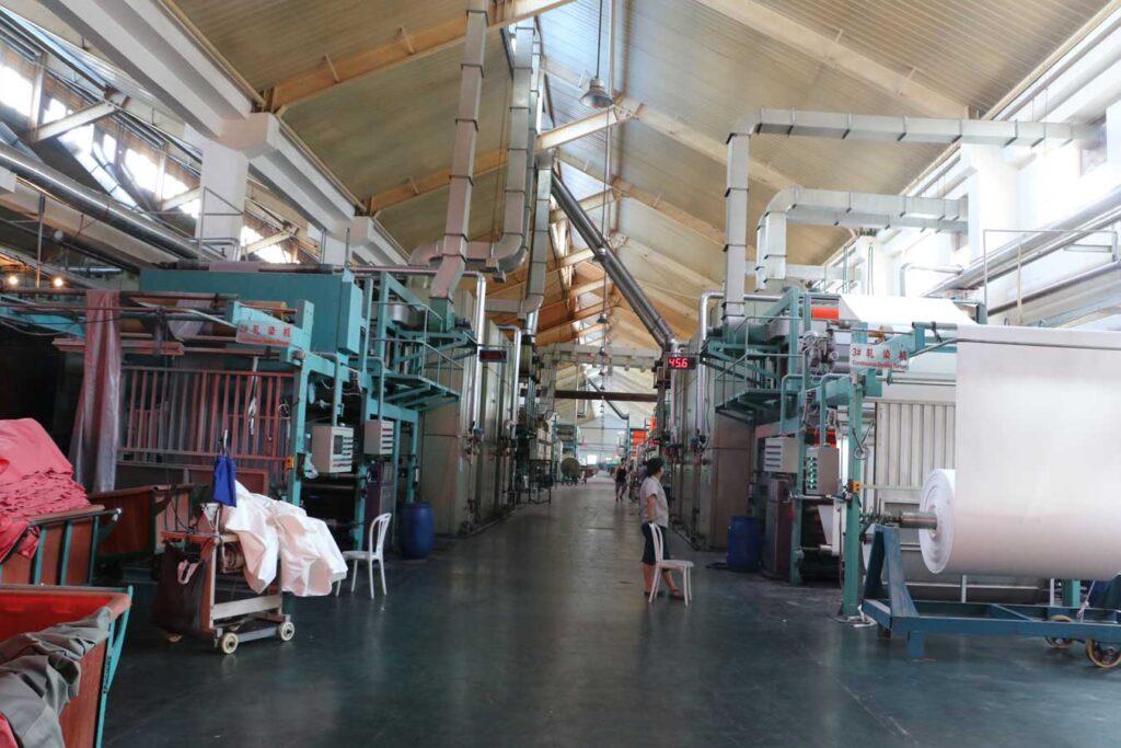 Pad Dyeing Machine