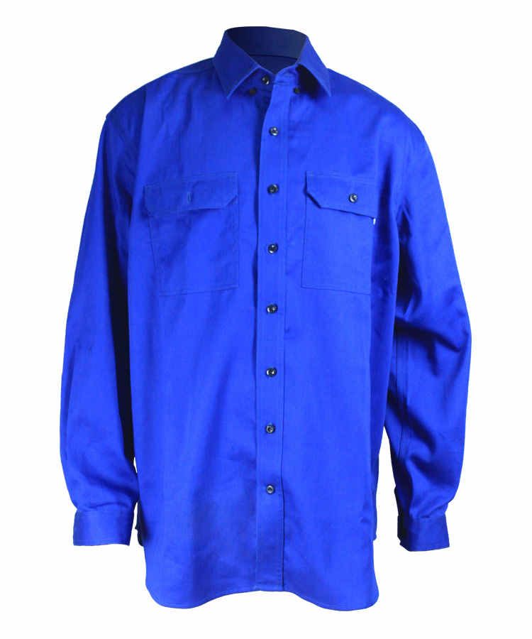 Royal Blue Mosquito Shirt