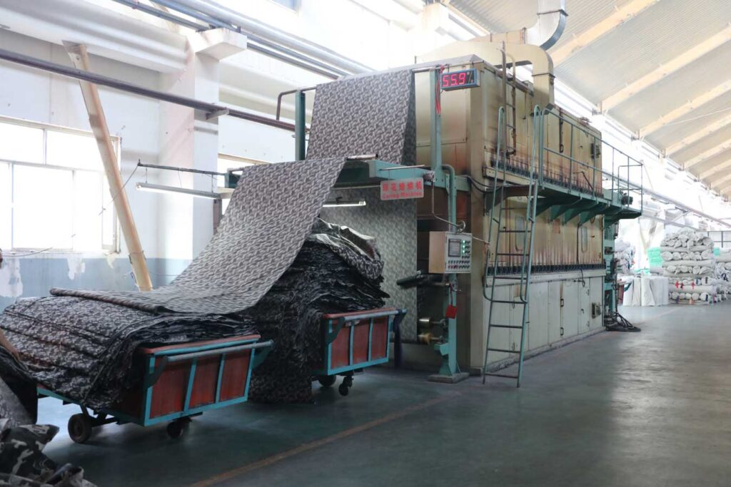 Curing Production Line