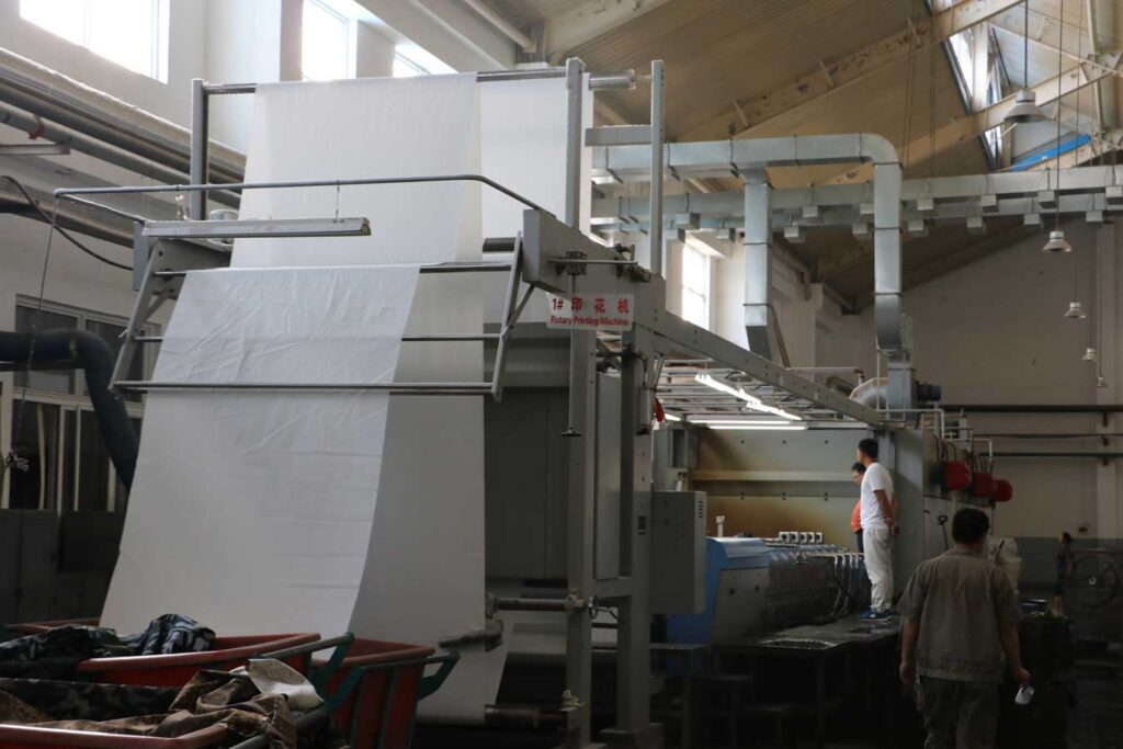 Rotary Screen Printing Production Line