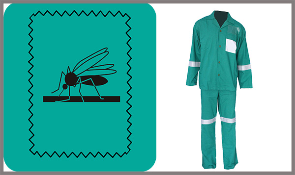 Anti-Bacterial Anti-Mosquito Two Piece Coverall