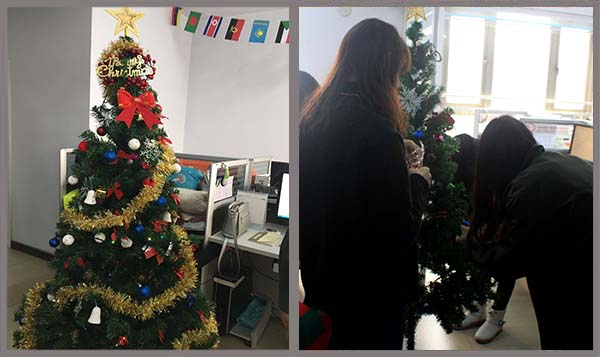 Yulong Textile Invites You to Enjoy Christmas Festival