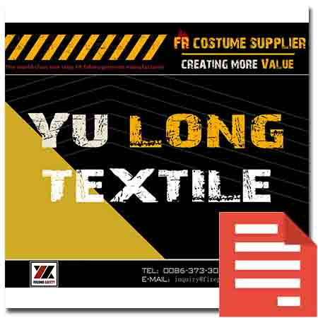 Yulong Textile Protection Fabric Display