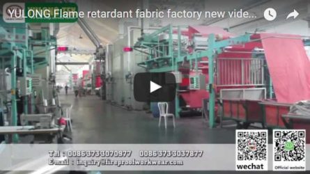 Yulong Flame Retardant Fabric Factory video4