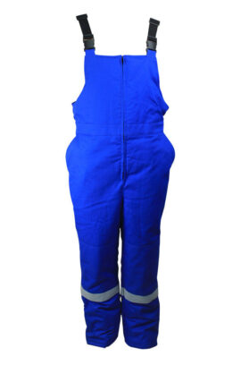 cotton fire retardant bib-pants
