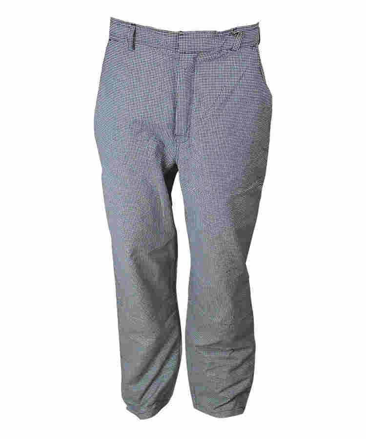 grey grid anti static pants