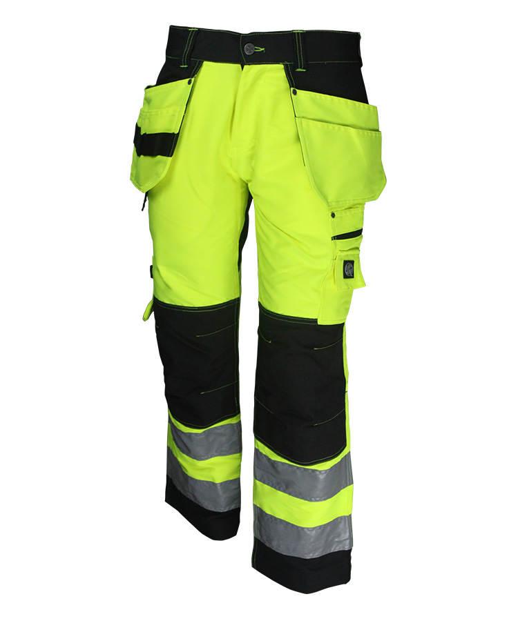 Hi Vis Yellow + Black Pants